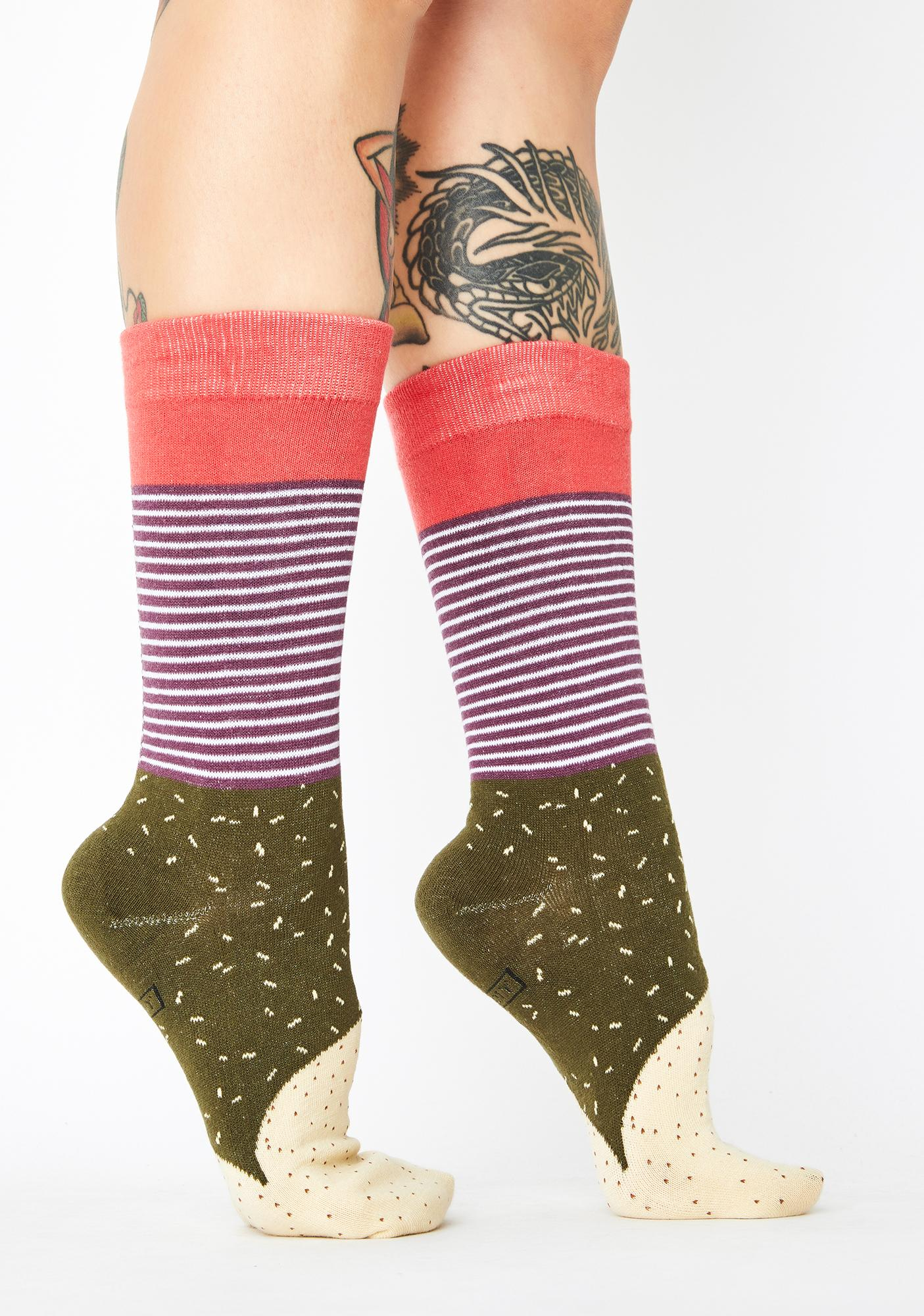 Gangsta Wrap Burrito Socks