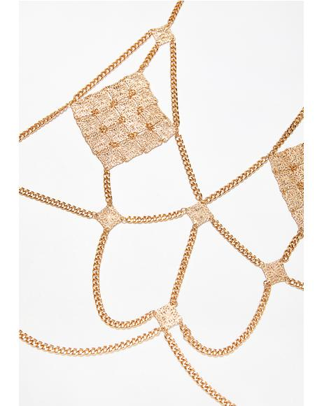 Golden Gypsy Body Chain