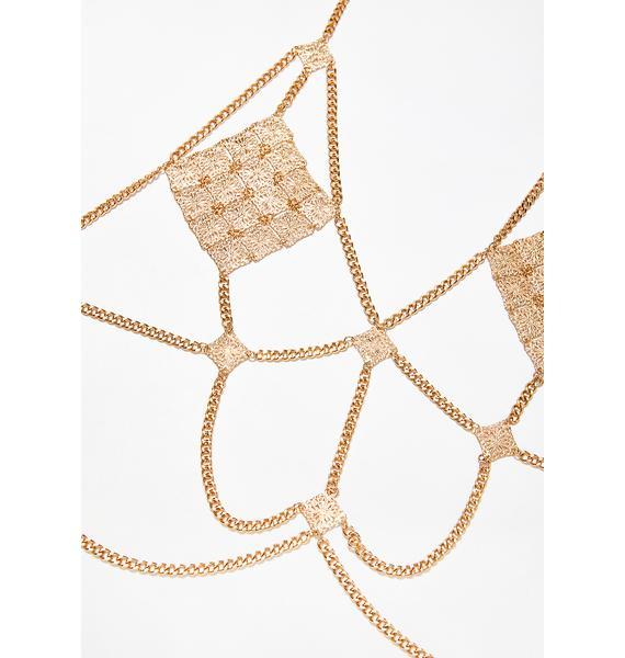 Golden Gypsy Body Chain