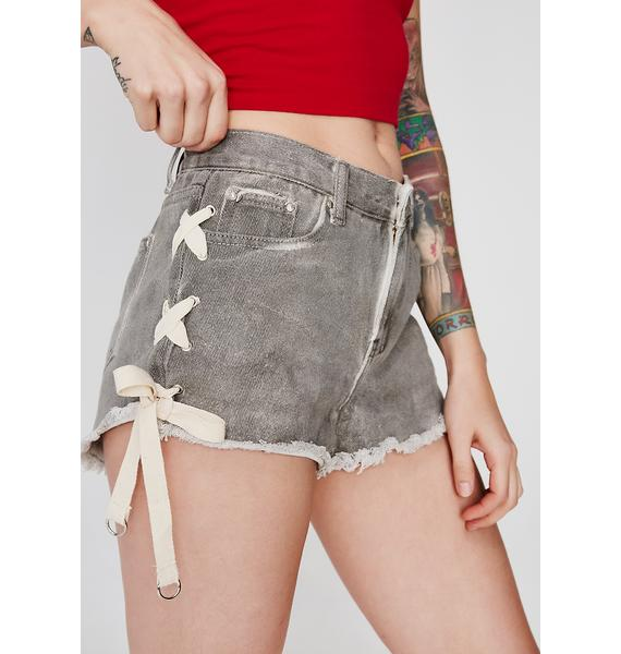 Can You Knot Denim Shorts