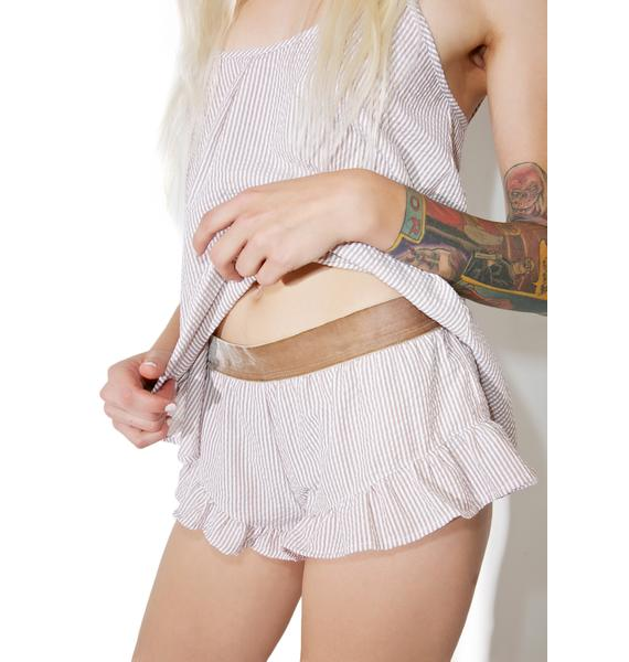 For Love & Lemons Emmy Sleeper Shorts
