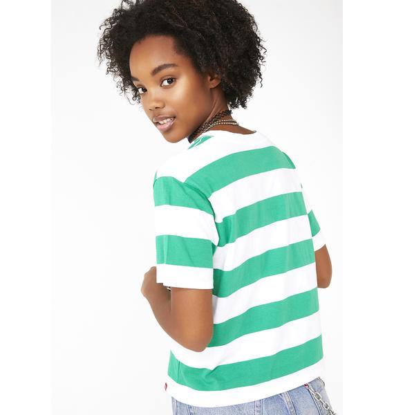 Dickies Girl Tomboy Stripe Tee