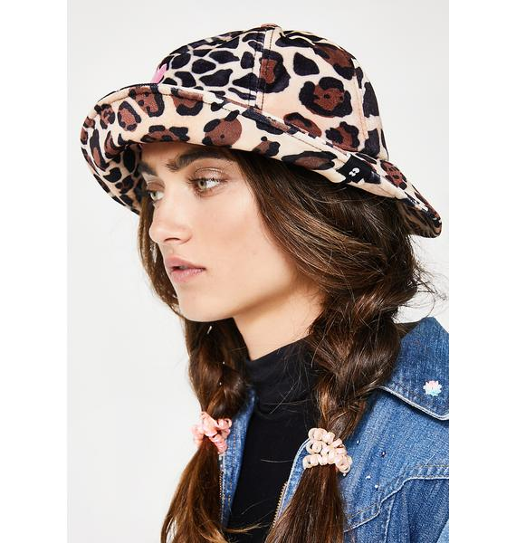 Lazy Oaf Leopard Bucket Hat