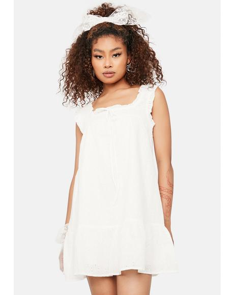 Want It My Way Babydoll Dress