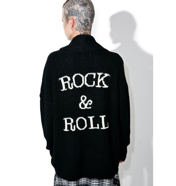 Gypsy Warrior Rock & Roll Cardigan