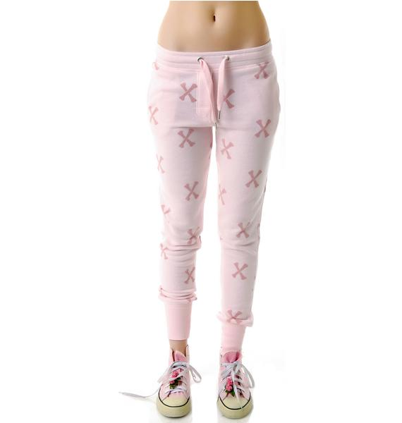 Zoe Karssen Crossbones Sweatpants