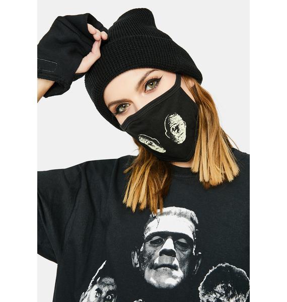 Rock Rebel Chaney Mummy Face Mask