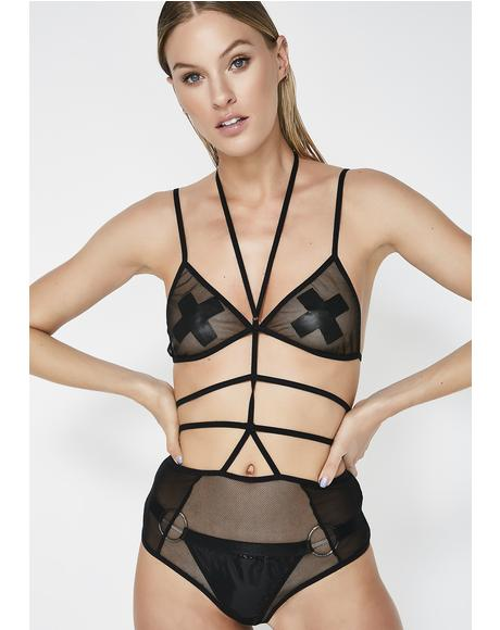 Your Fetish Cage Bodysuit