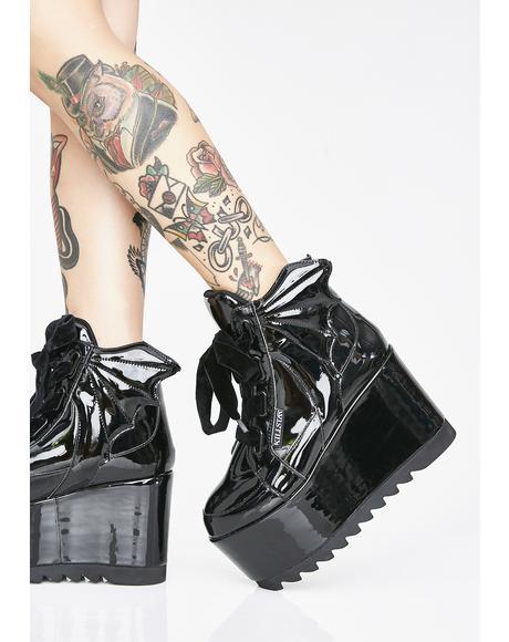 Dead 4Ever Platform Sneakers