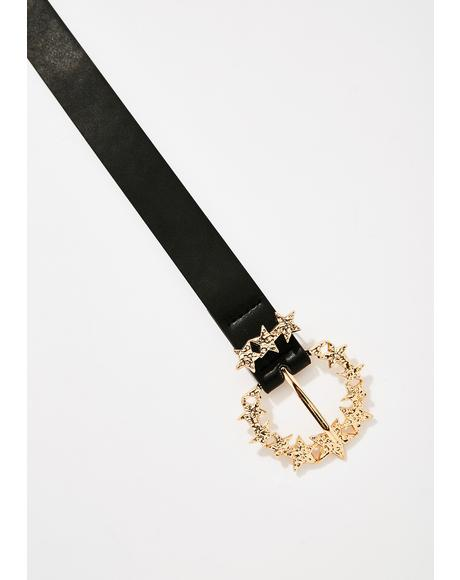 Twinkle Twinkle Star Buckle Belt