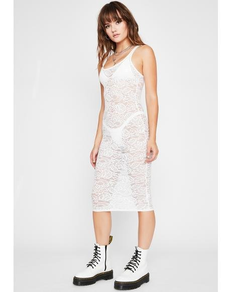 Risque Business Lace Dress