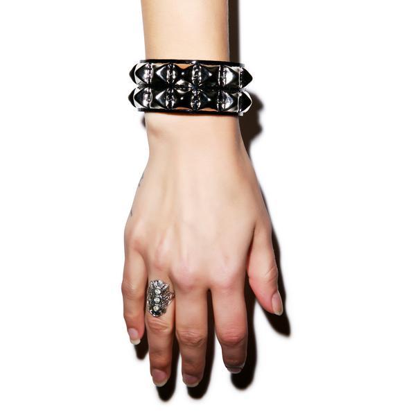 Haunted Dream Double Studded Bracelet