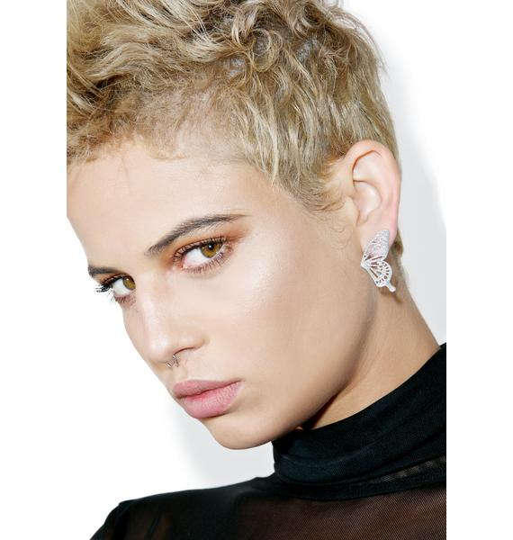 Monarch Post Earrings