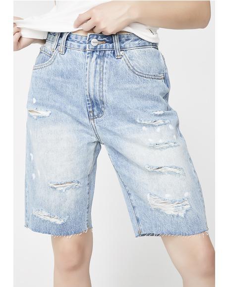 Drip N Destroy Tori Shorts