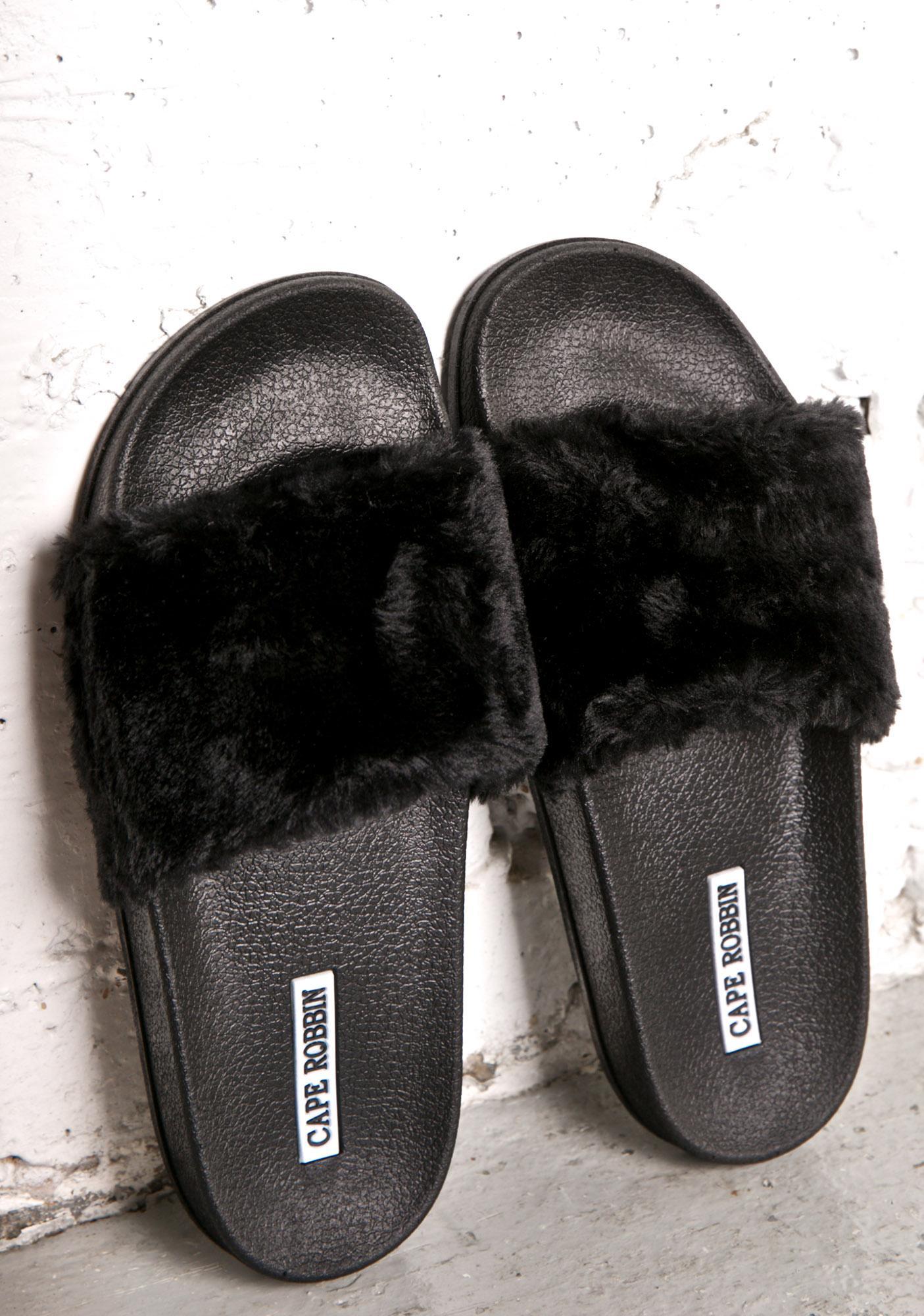 Famous Fuzzy Slides