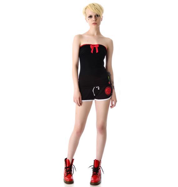 Sourpuss Clothing Cherry Bop Tube Top