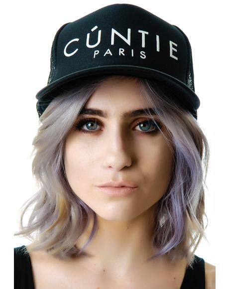 Cuntie Trucker Mesh Hat