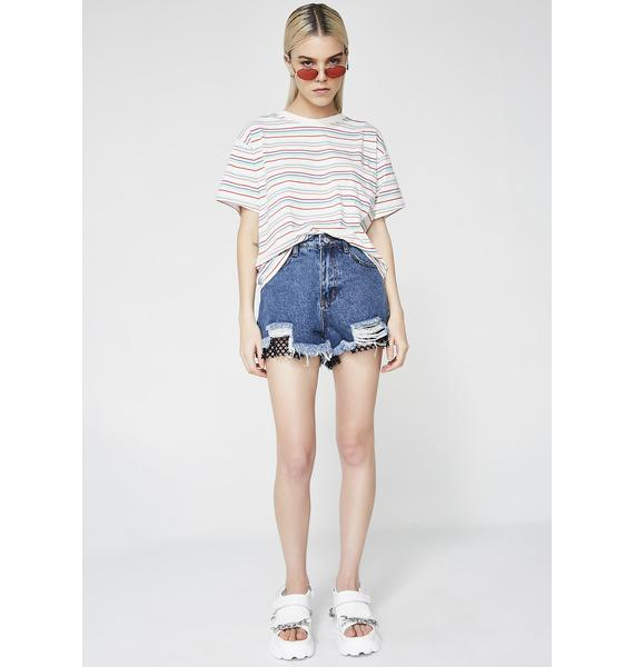 Down Under Denim Shorts