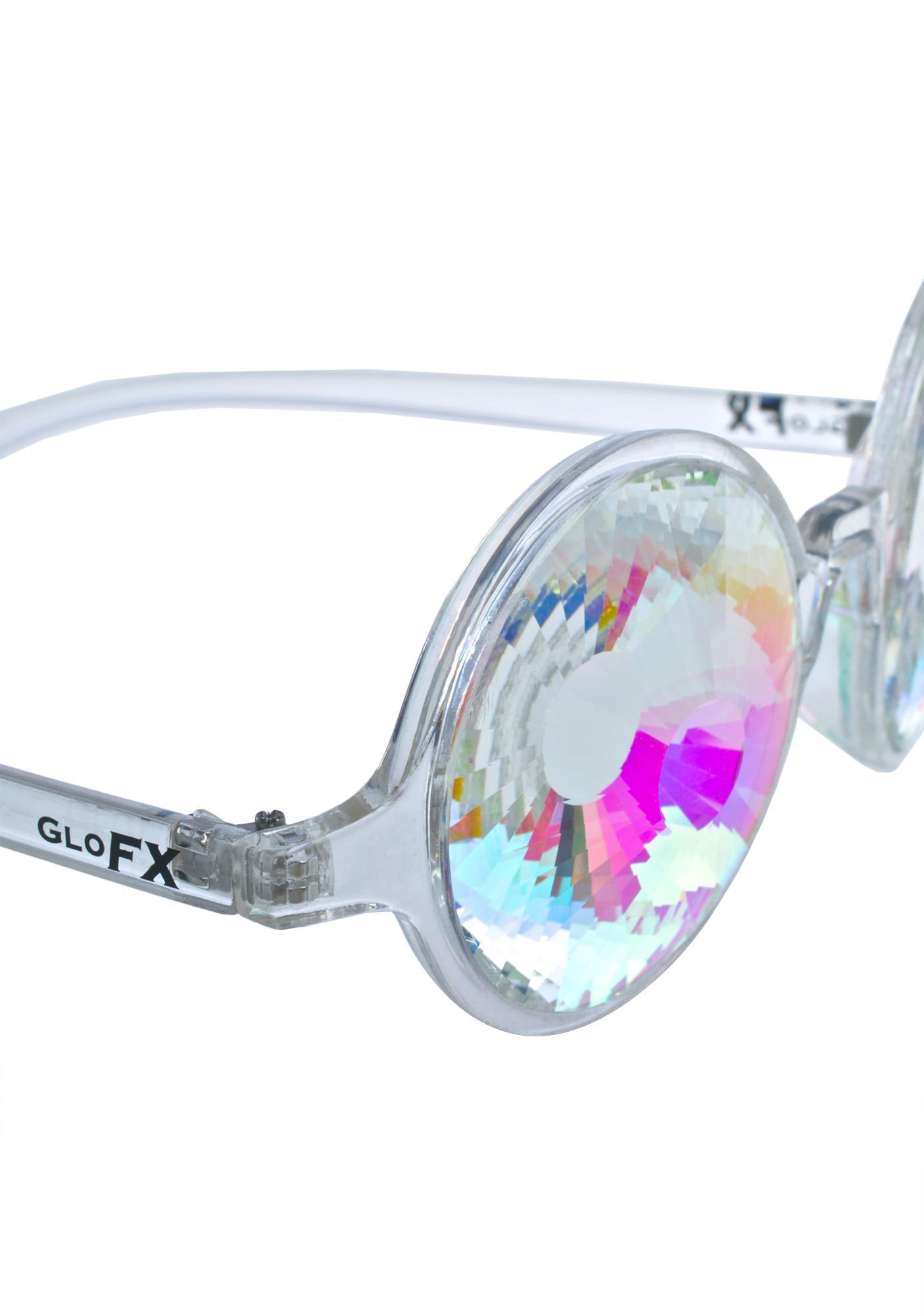 GloFx Kaleidoscope Wormhole Glasses