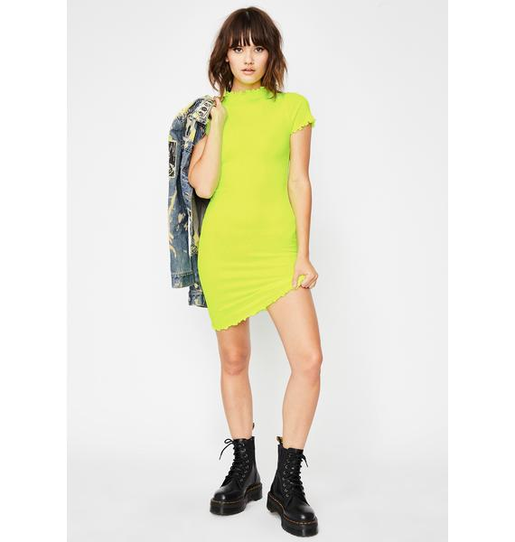 Eat Ur Heart Out Mini Dress