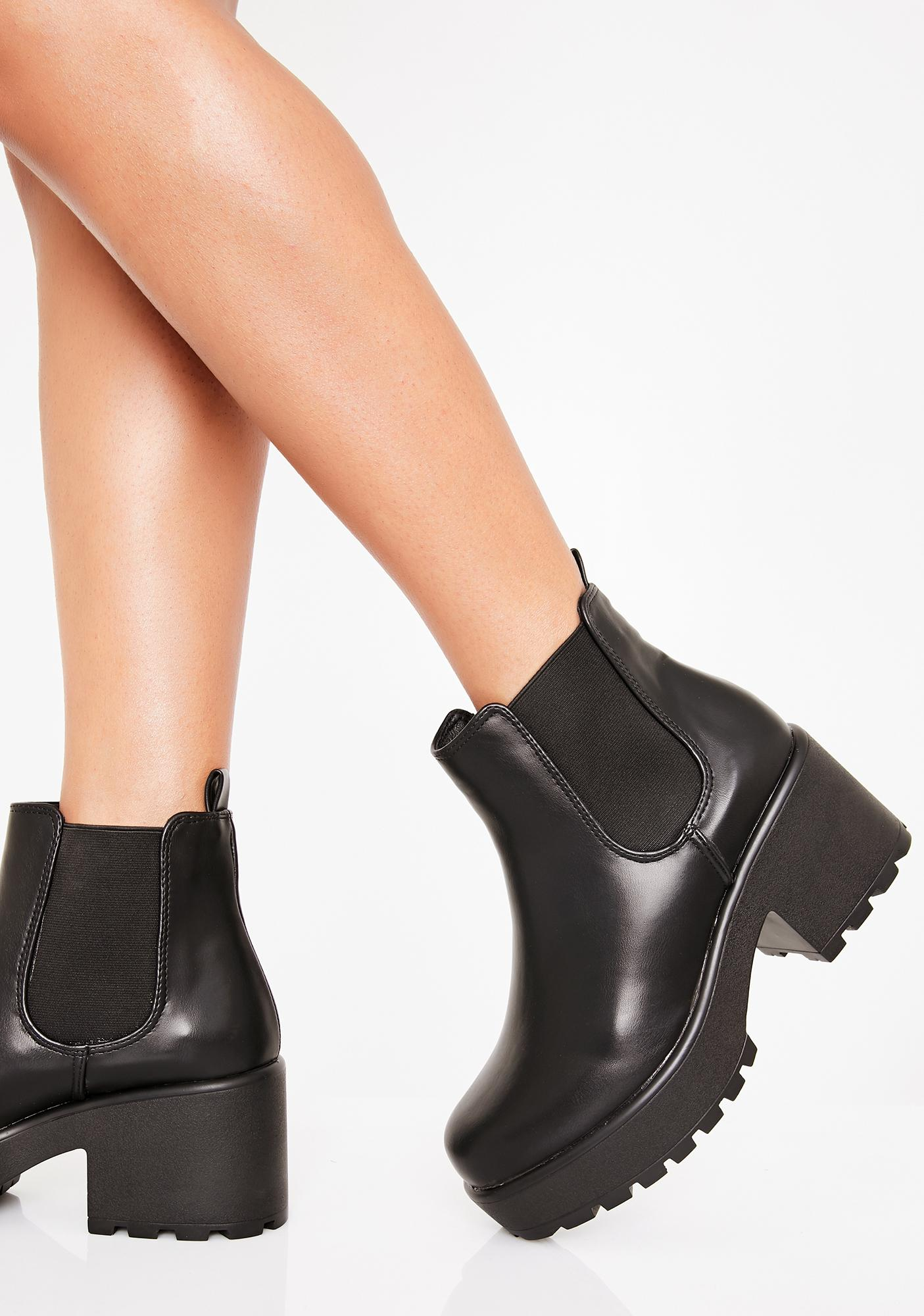 Koi Footwear Kai Chunky Chelsea Boots