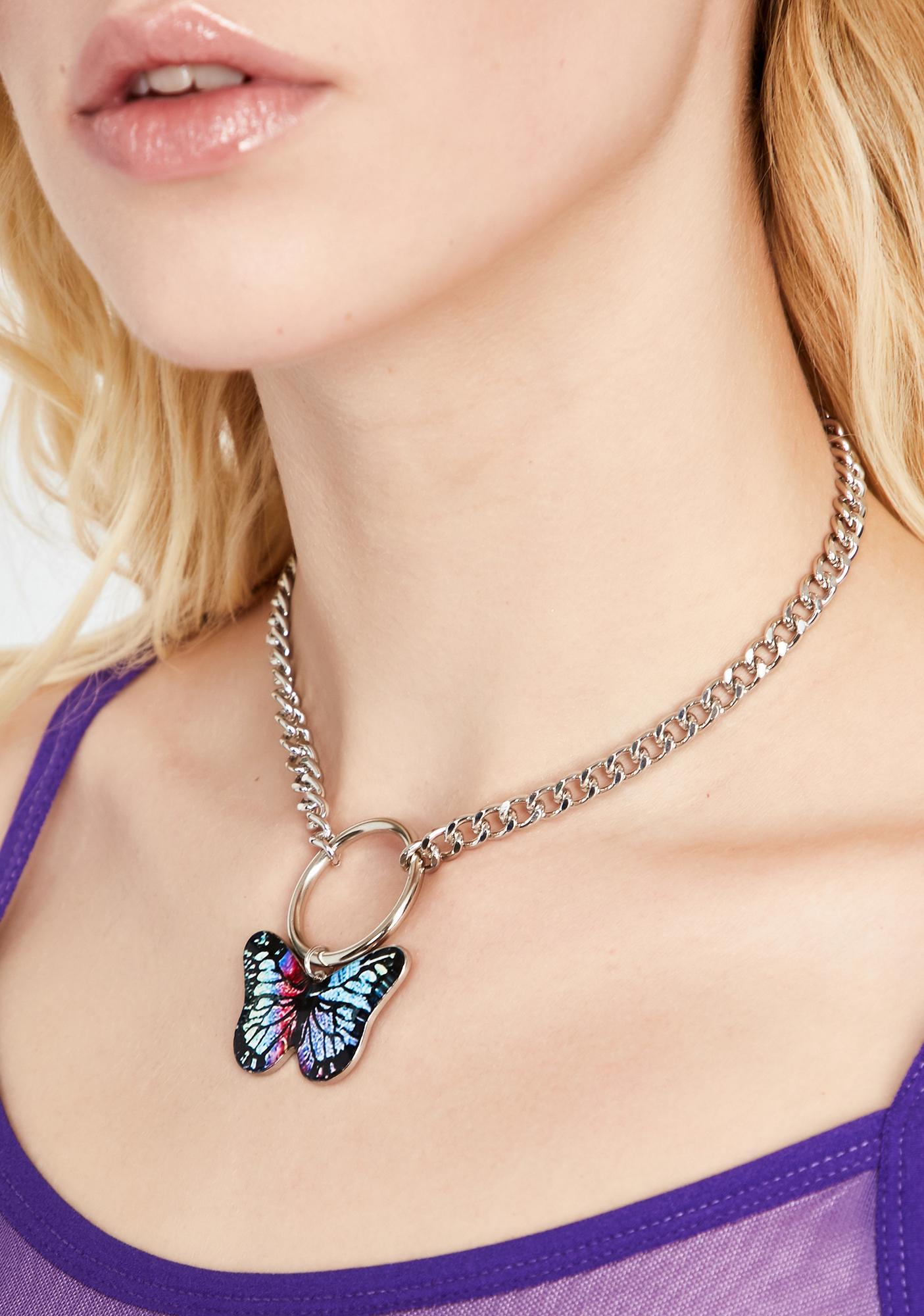 Butterfly Effect O-Ring Choker