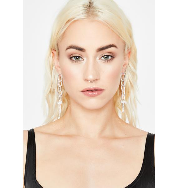 All Divine Ankh Earrings