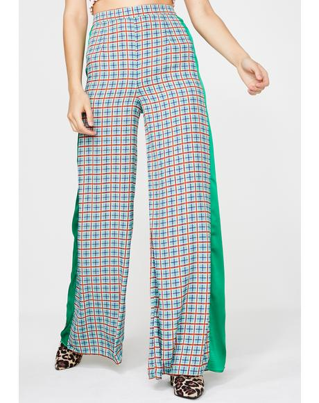 Positive Thinking Wide Leg Pants