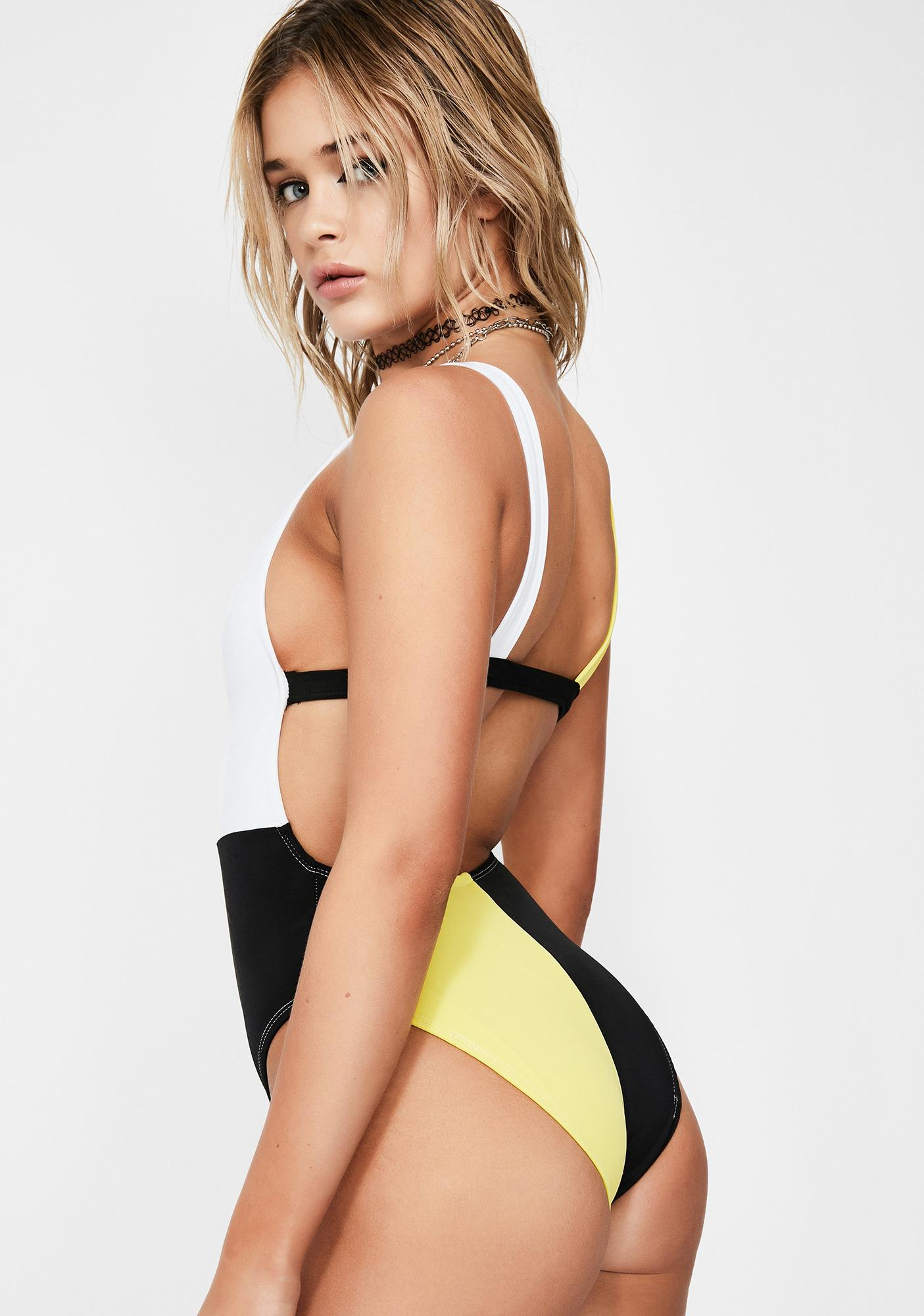 Cute Mistake Ring Leader Swimsuit