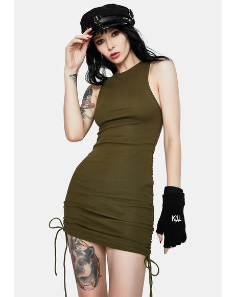 Ardilla Ruched Bodycon Dress