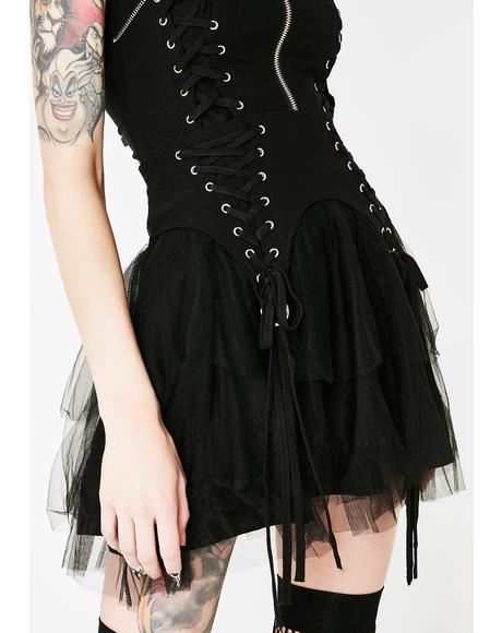 Doom Doll Mini Skirt