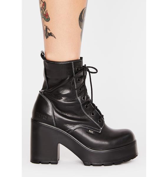 ROC Boots Australia Mascot Leather Boots