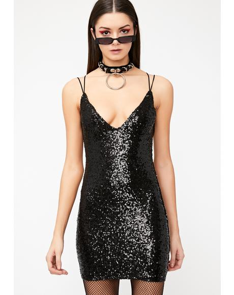 Don't Tell 'Em Sequin Dress
