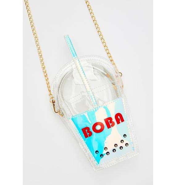 Cosmic Milk Tea Boba Purse