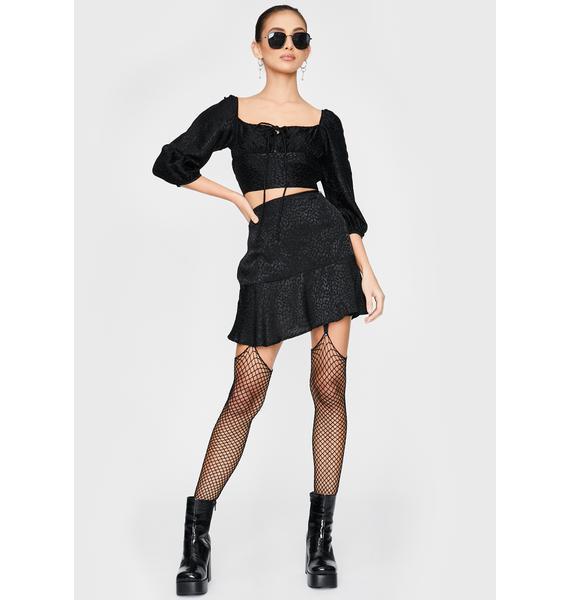 Motel Galle Mini Skirt