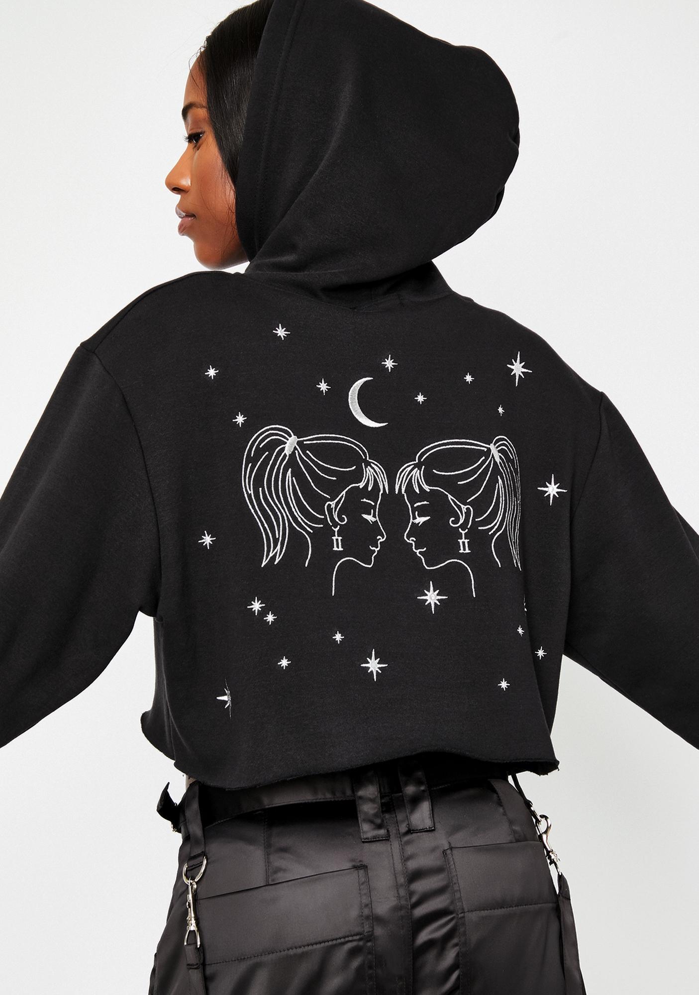 HOROSCOPEZ Gemini Magick Graphic Hoodie
