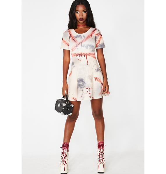 Dolls Kill Horror High Zombie Schoolgirl Costume
