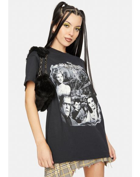 Munsters Collage Graphic Tee