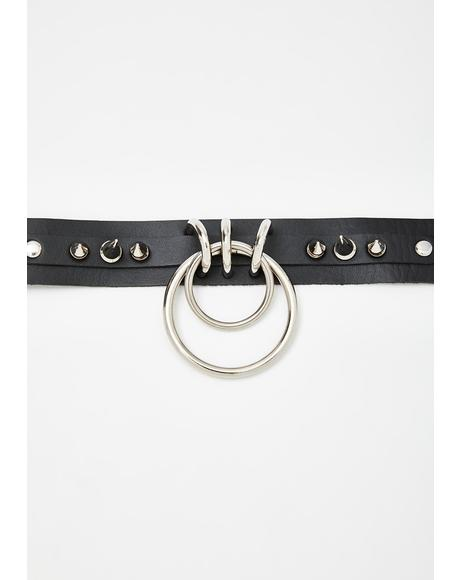 Pain N' Pleasure O-Ring Choker