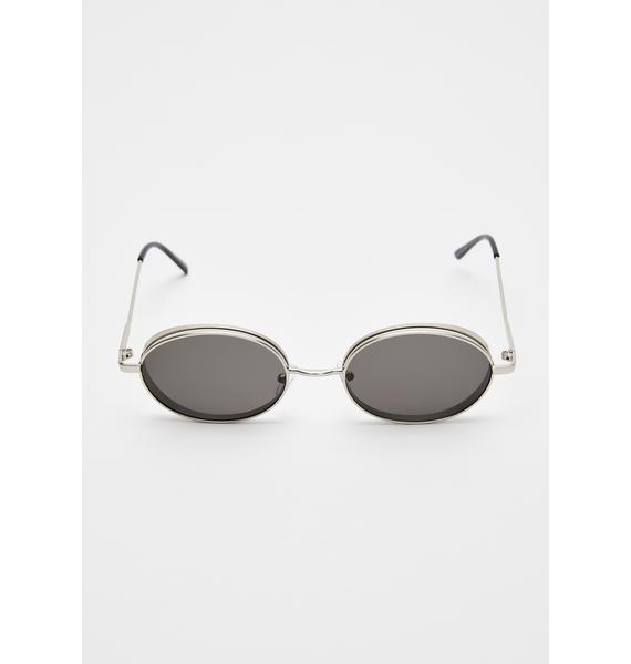 Smokin' Hell Freak Oval Sunglasses
