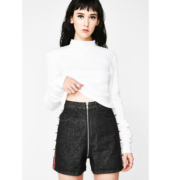 Disturbia Stud Shorts