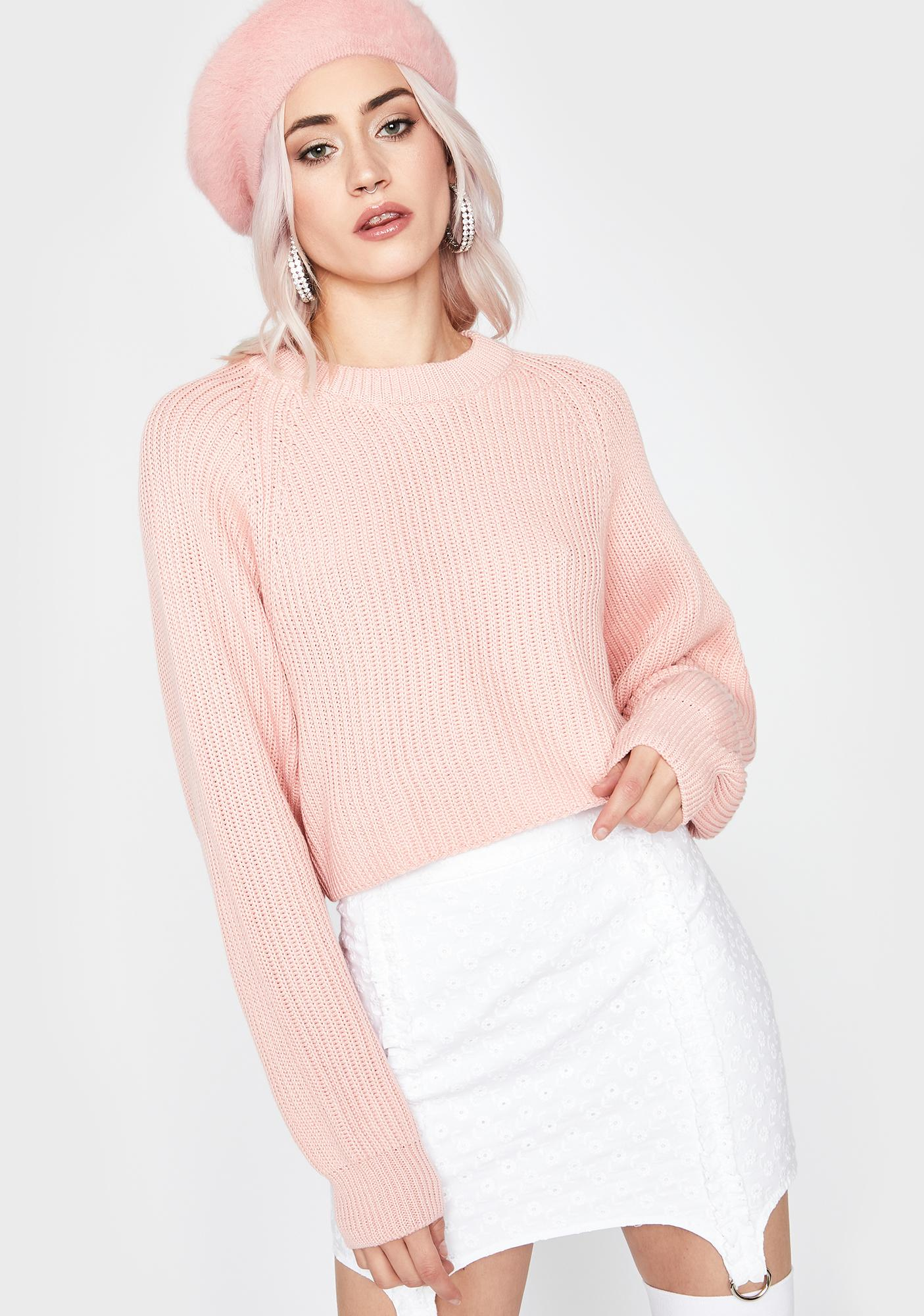 Kiss Tender Touch Knit Sweater