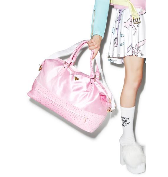 Joyrich Ostrich Mixed Weekender Bag