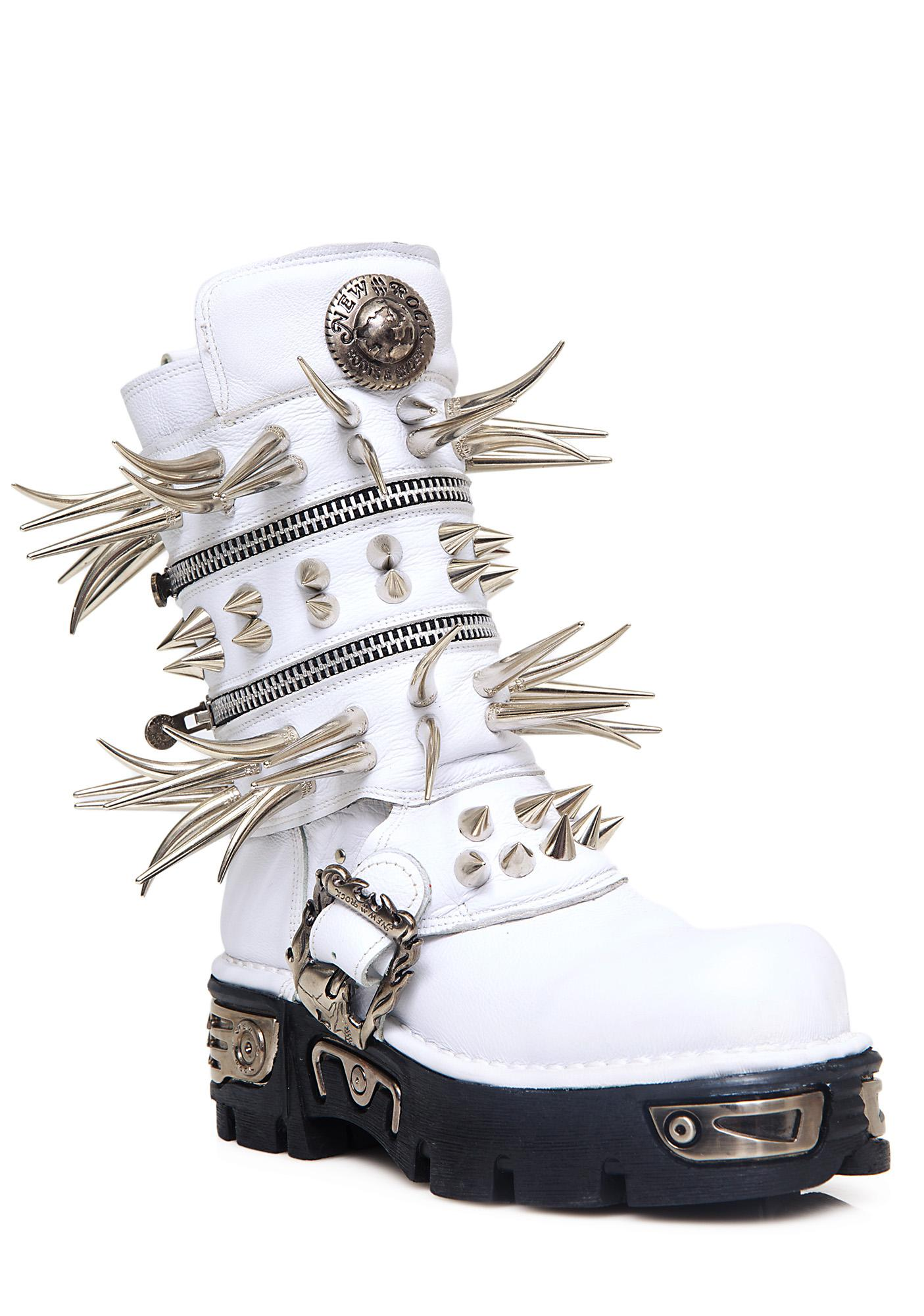 Maria ke Fisherman Spike Boots