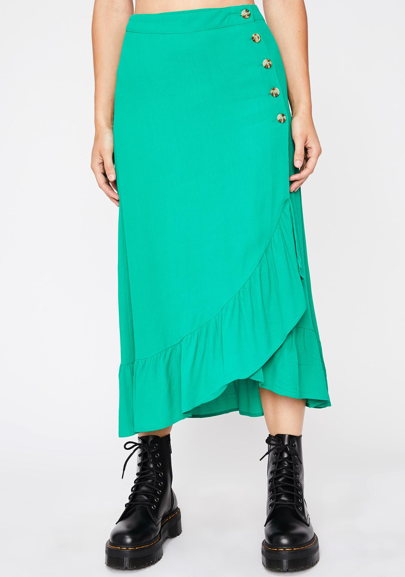 Give Me One Reason Midi Skirt