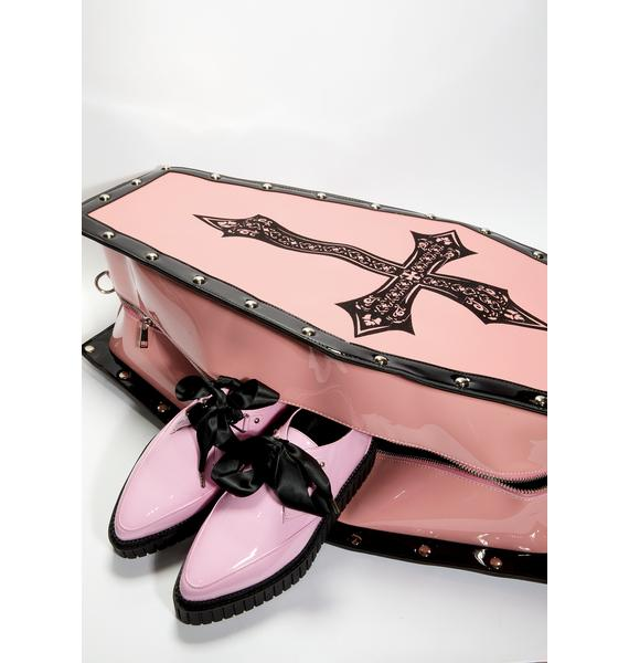 Widow Bewitched Dead Weight Coffin Weekender