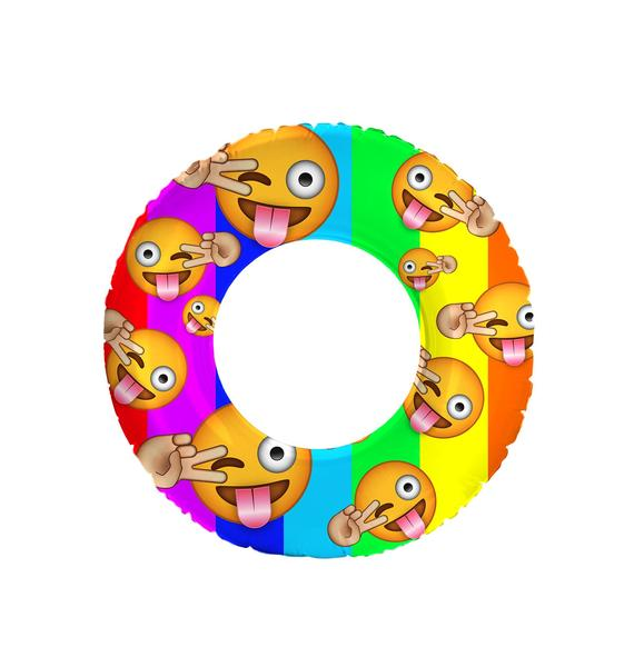 Gettin' Turnt Emoji Pool Float