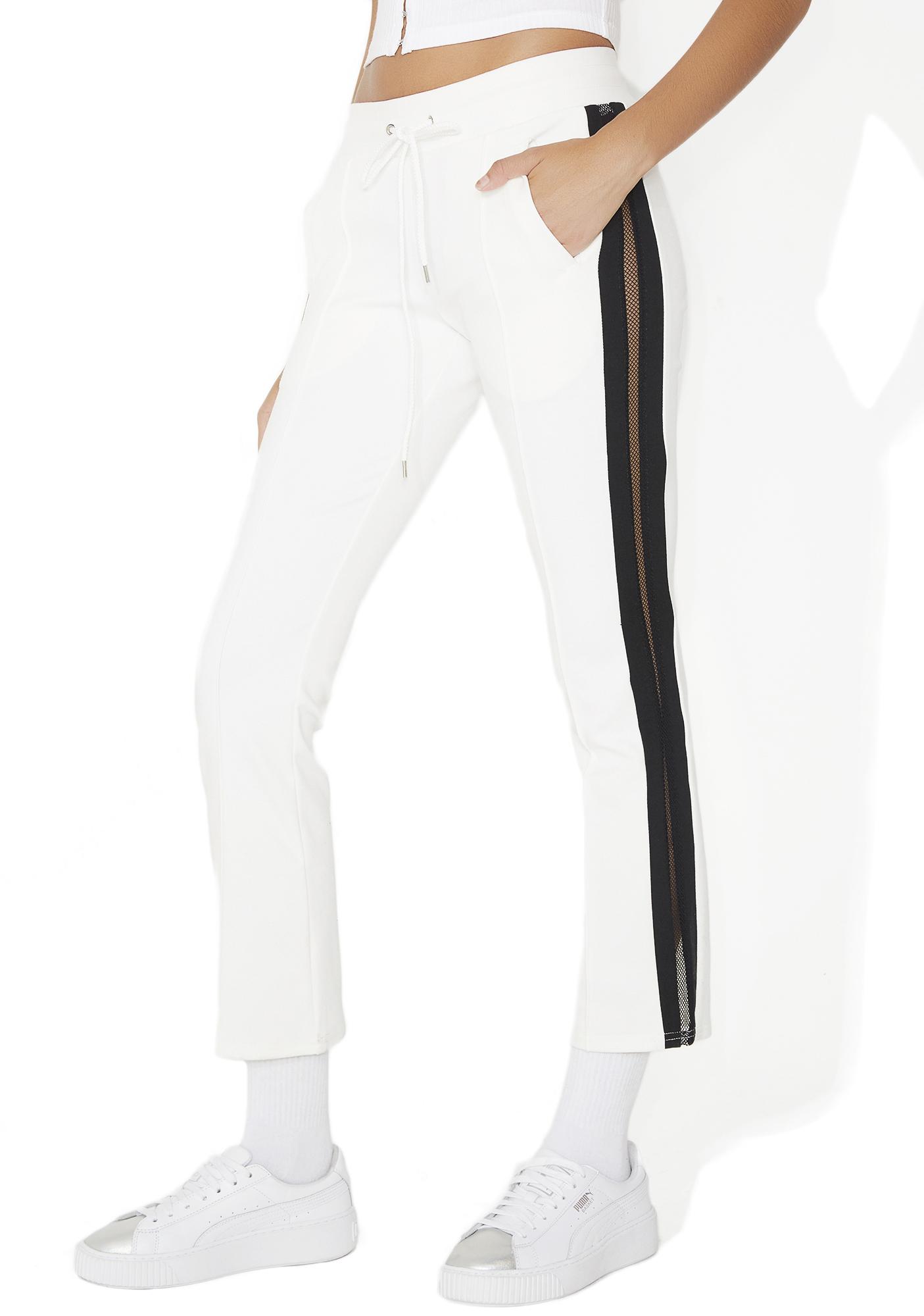 Panel Mesh Track Pants