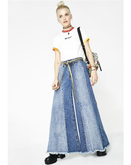Dazed N' Confused Palazzo Jeans