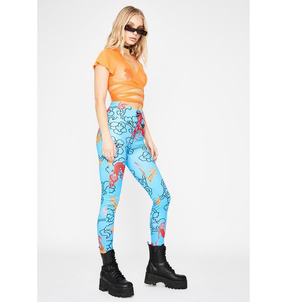 True Legend Lace-Up Pants